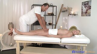 Licentious appreciation in scenes for soft massage for a young comme ci