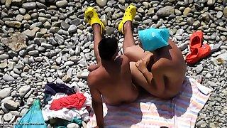Nude Couples Beach Voyeur HD