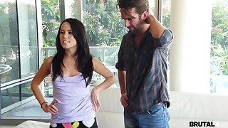Megan Rain - Step Siblings Fight and Copulate