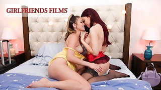 GirlfriendsFilms - Shy Teens' First Duration There A Woman