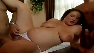 Gangbang My Pregnant Hot Wife Prevalent Quite Hardcore Style