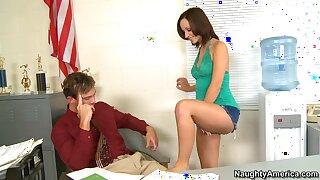 Nasty Bookworm Jada Stevens Hot Sex Video